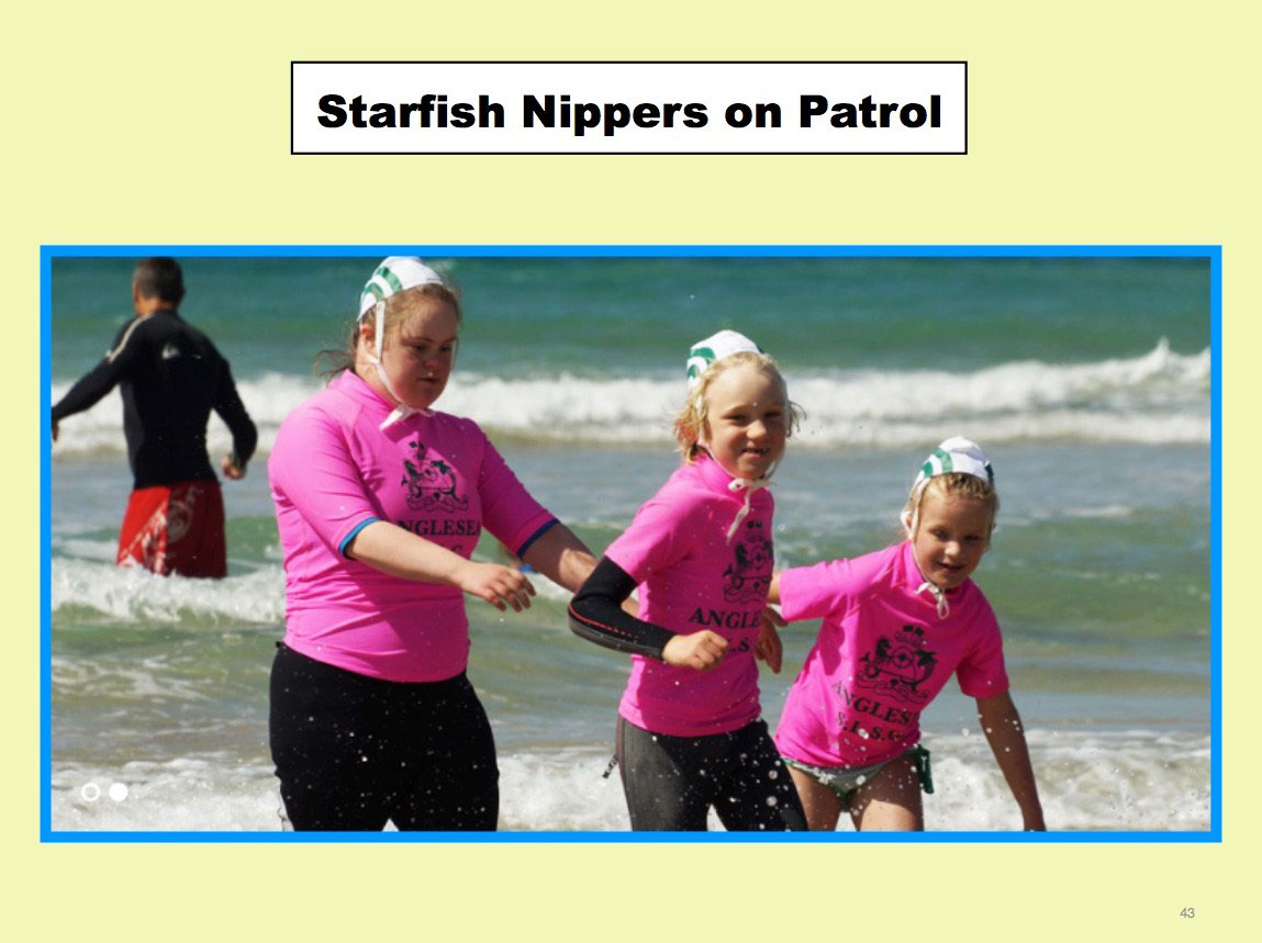 The Starfish Nippers - on patrol