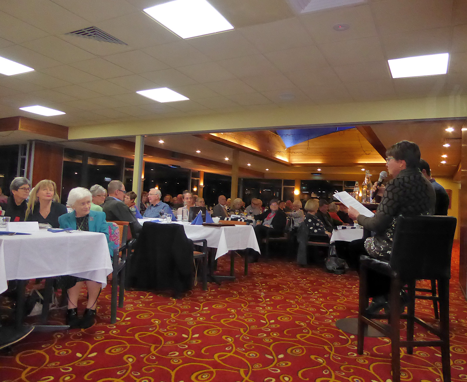 Annual DInner at Aireys Inlet Uniting Church